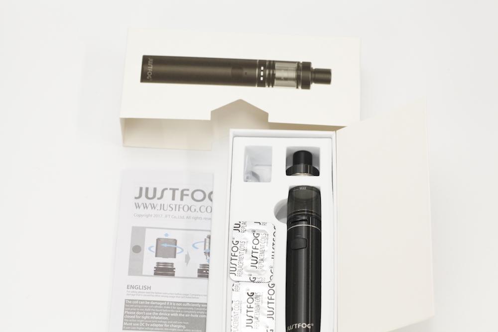Justfog fog1 kitパッケージスライド2