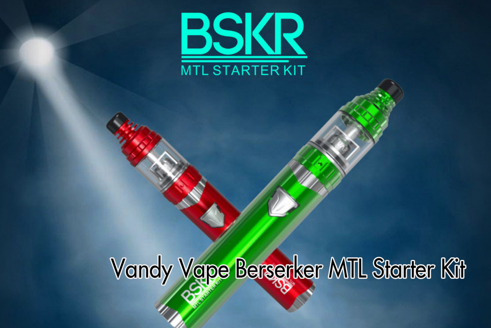 Vandy Vape Berserker MTL Starter Kitメーカー情報まとめ