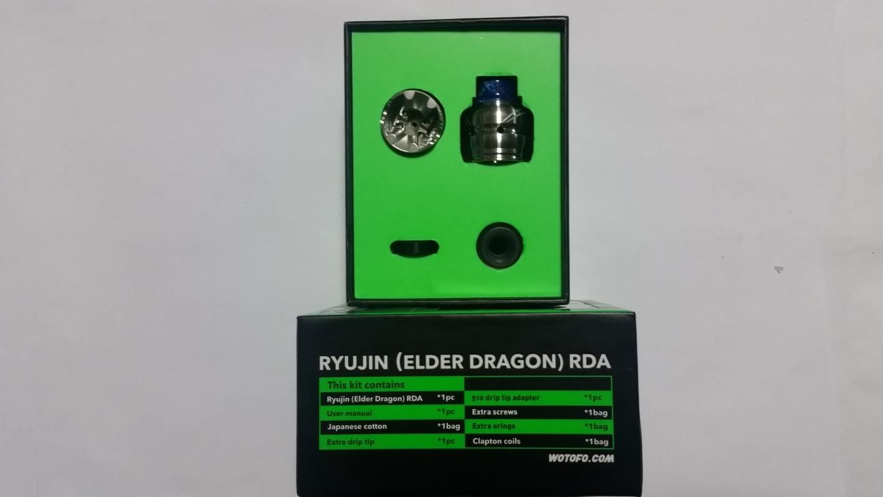 Wotofo RYUJIN(ELDER DRAGON)RDAパッケージ3